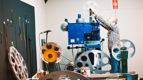 Film projection workshop