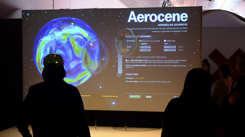 """Presentation of the installation of the exhibition """"Aerocene""""by Tomás Saraceno and discussion on """"The Future of Energy and the Energy of the Future"""""""