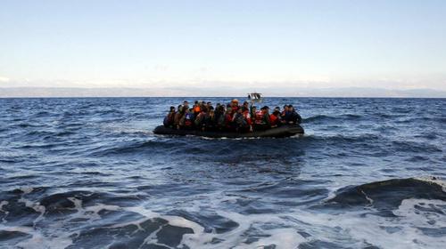 Lampedusa, un mar en flames