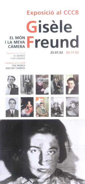 Gisèle Freund. The world and my camara