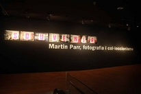 Photographies of the exhibition 'Souvenir. Martin Parr, Photography and Collecting'