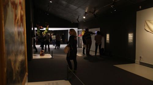 Visita comentada i tertúlia «Tres visions sobre l'exposició +Humans» per als AMICS CCCB