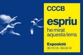 """Presentació i visita a l'exposició """"Espriu. He mirat aquesta terra"""" als Amics CCCB, el MACBA, el MNAC, la Fundació Miró i la Fundació Antoni Tàpies"""
