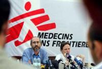 Kenny Gluck en un acto de MSF