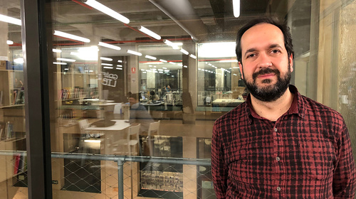Aula oberta #17: Marcos García