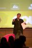 Momento de la presentación de Thom Hartmann