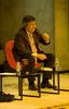 Momento de la conferencia de Hermann Scheer