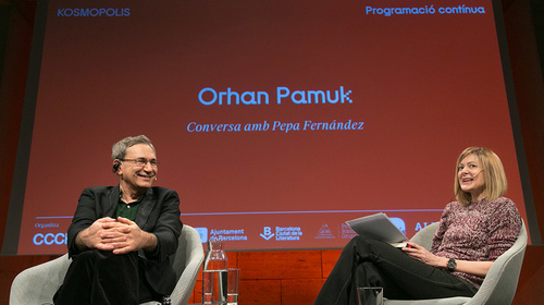 Meeting with Orhan Pamuk