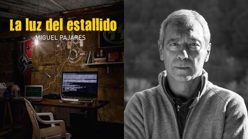 """Presentació de la novel·la """"La luz del estallido"""" de Miguel Pajares"""