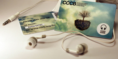 L'audioguia que et pots endur
