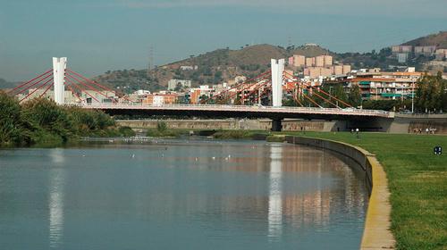 Besòs, gateway and border