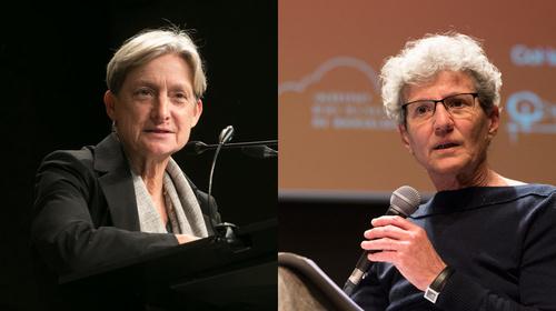 Diàleg entre Judith Butler i Fina Birulés, conduït per Marta Segarra