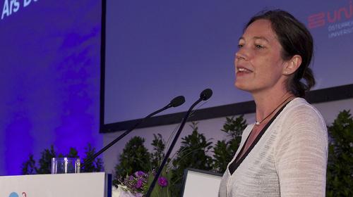 Conferencia de Silke Meyer