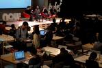 Público asistente al debate sobre cultura móvil