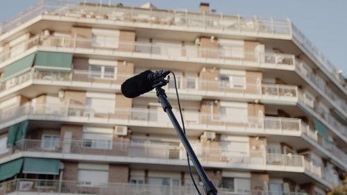 "Premiere of ""Octubre a Barcelona"", a film by Érik Bullot"
