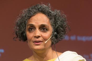 Arundhati Roy  | © CCCB, 2017. Autor: Miquel Taverna