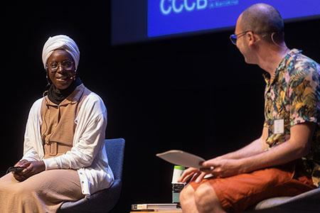 Fatoumata Kébé and Albert Forns