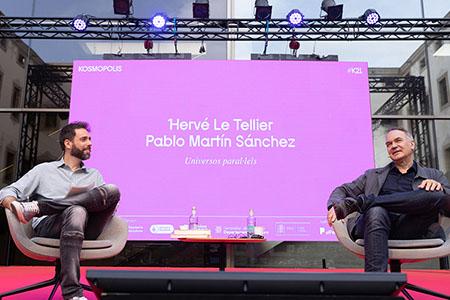 Hervé Le Tellier y Pablo Martín Sánchez