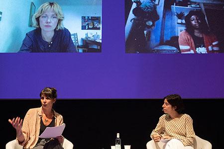 Sophie Collins, Irenosen Okojie, Mireia Calafell i Anna Gual