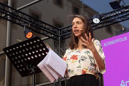 Aina Huguet, Iris Llop, Artur Garcia Fuster, Gemma Medina i Martí Sales