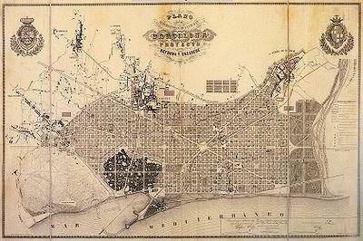 Projecte Original del Pla Cerdà