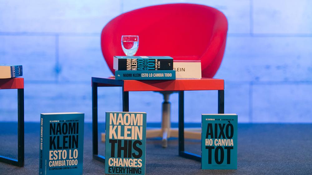 Imatge de l'activitat: Conferència de Naomi Klein