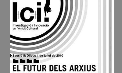 Image of the activity: I+C+i. The future of the archives