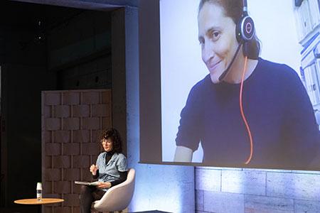 Cynthia Fleury y Sonia Arribas