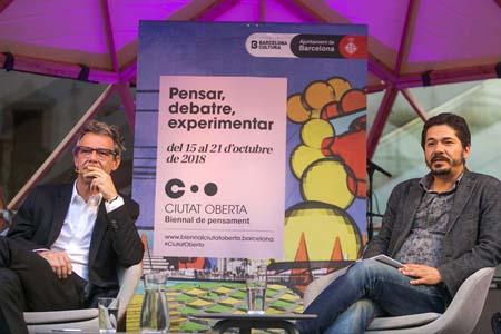 Dialogue between  Álvaro Enrigue y Juan Pablo Villalobos