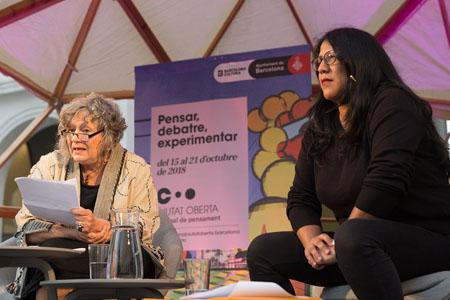 Lecture by Rita Segato and discussion with Gabriela Wiener