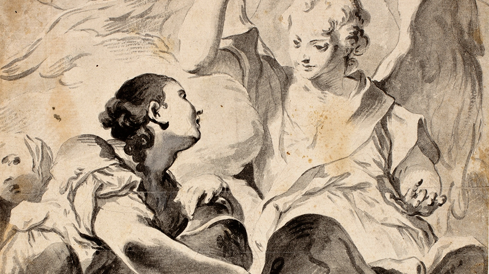 La Magdalena davant el sepulcre de Crist, Giovanni Bettino Cignaroli, s. XVIII, ©Museo Nacional del Prado