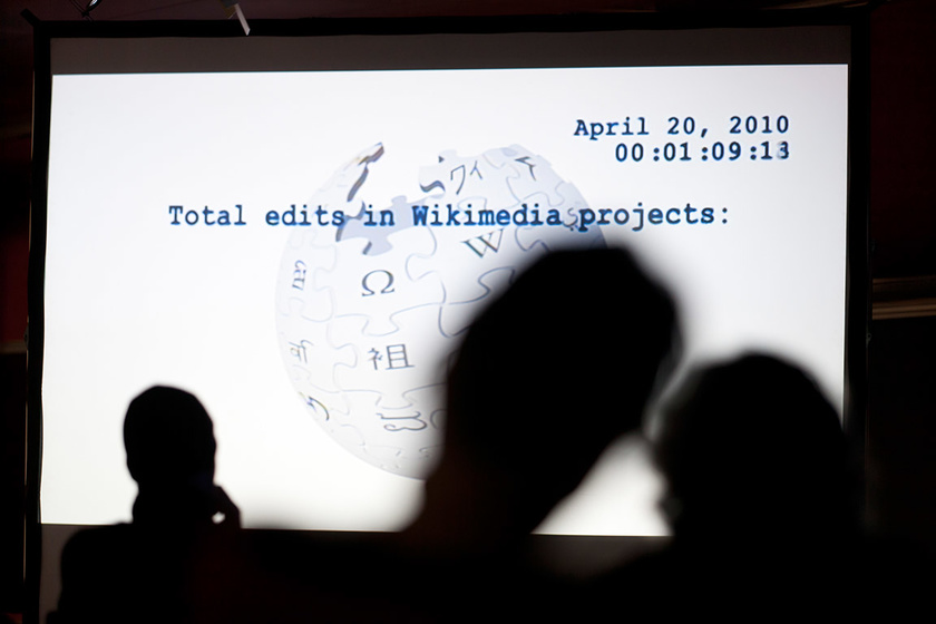 Image from the press dossier: The CCCB and Amical Wikimedia