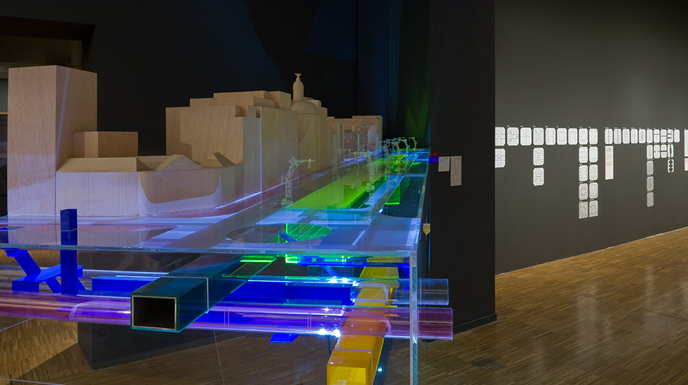 Image of the exhibition: Cerdà and the Barcelona of the Future