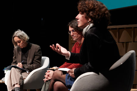 Marina Garcés, Raül Garrigasait, Íngrid Guardiola and Anna Punsoda