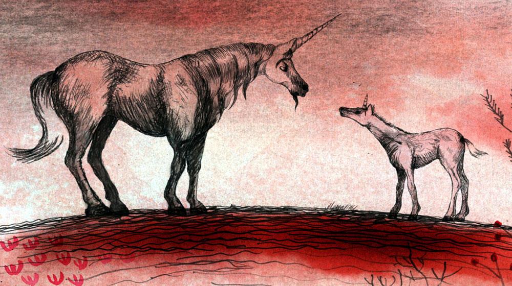 Sangre de Unicornio (Unicorn Blood). 2013. Spain. Directed by Alberto Vázquez