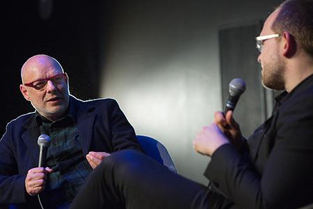 Brian Eno y Evgeny Morozov