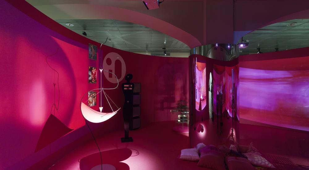Centre de Plaers Sexuals recreat amb obres originals de Nicolas Shöfer © CCCB, 2016. Autor: Gregori Civera