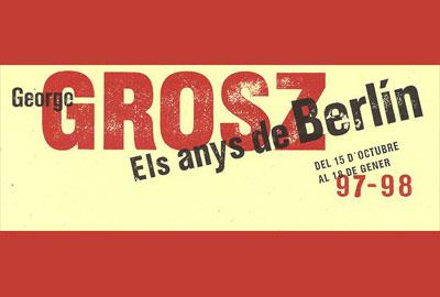 Imatge del trípitc de l'exposició George Grosz