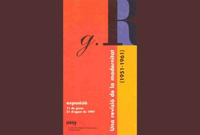 Imatge de l'exposició: Grup R. Una revisió de la modernitat, 1951-1961