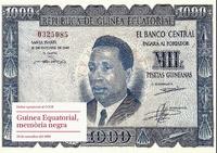 Guinea Equatorial, memòria negra