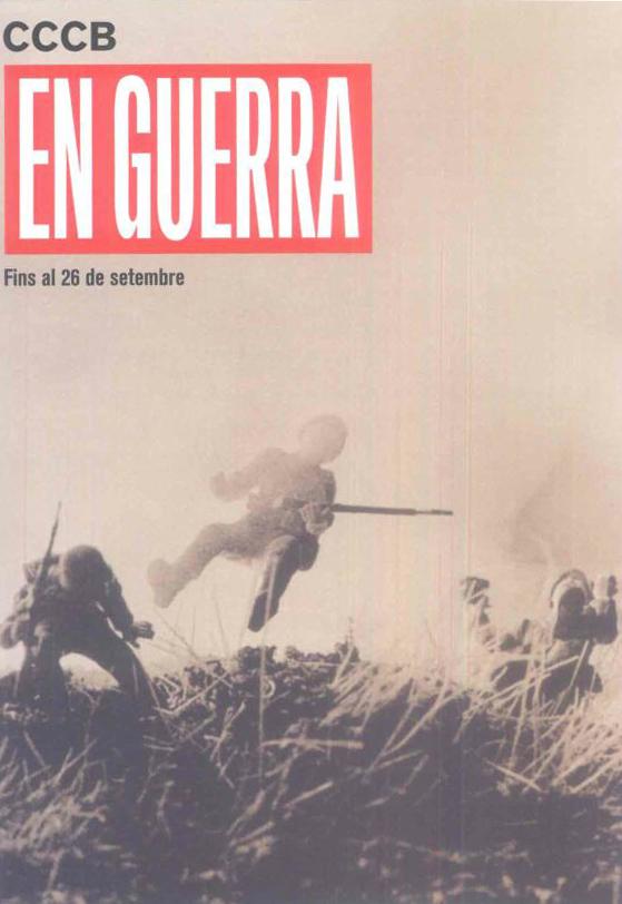 Imagen de la exposición En guerra