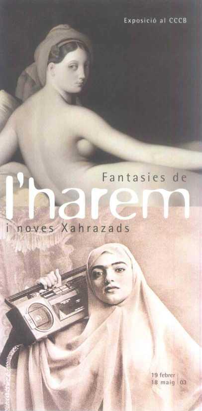 Imatge de l'exposició Fantasies de l'harem i noves xahrazads
