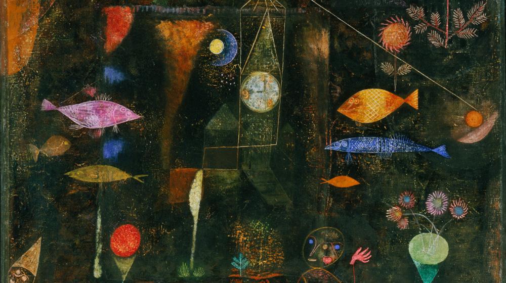 Wikimedia Commons, Paul Klee, Fish Magic, 1925