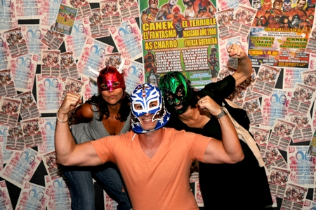 Mexican Lucha Libre Wrestling: Family Portraits. Photographs by Lourdes Grobet