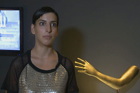 "Moon Ribas talks about the ""Seismic arm"" (Cyborg Foundation)"