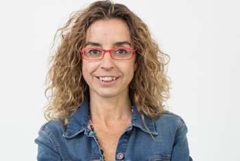 Mònica Bernabé    © CCCB, 2019. Autor: Miquel Taverna.