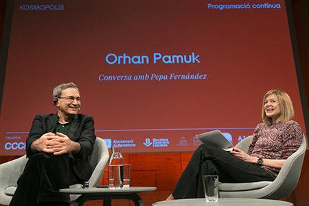 Programació contínua 18. Trobada amb Orhan Pamuk