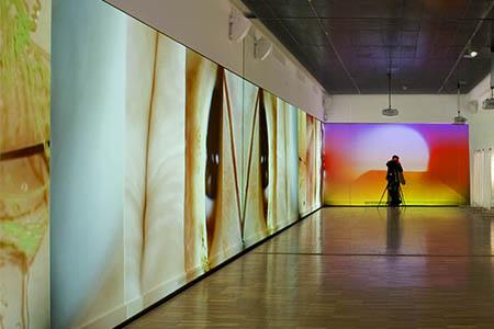 Reportatge de l'exposició «J. G. Ballard. Autòpsia del nou mil·lenni»