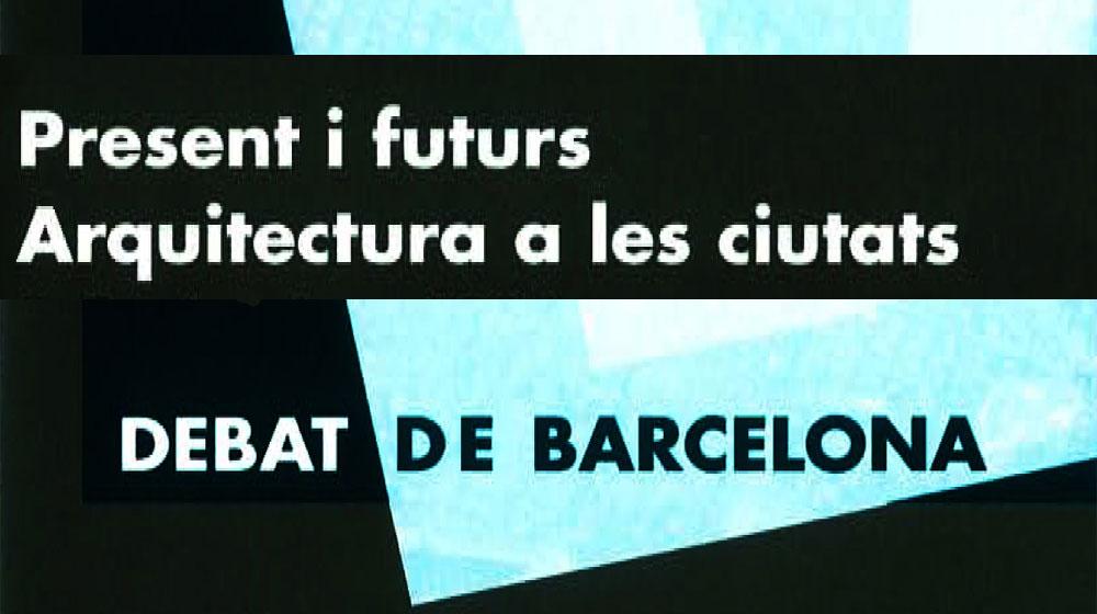 Imatge de l'activitat:Present i futurs. Arquitectura a les ciutats