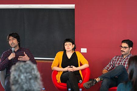 Rasha Abbas, Hamid Sulaiman, Golan Haji  y Bashkim Shehu